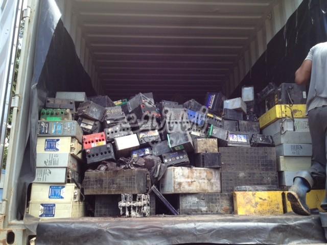 5 واردات ۶۰۰۰ تن ضایعات باطری از ارمنستان
